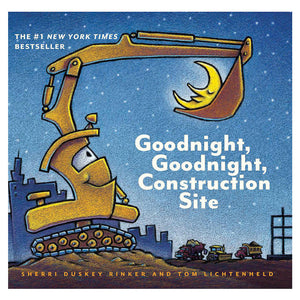 Goodnight, Goodnight, Construction Site Board Book Cover