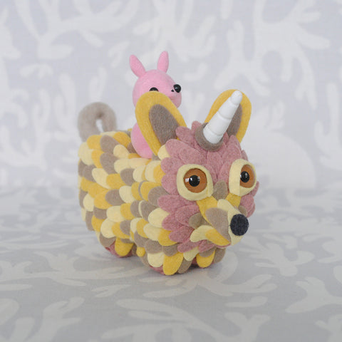 Critter Cavalcade Yellow by Horrible Adorables - PIQ