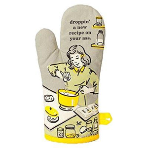 Droppin' a New Recipe on Your Ass Oven Mitt - PIQ