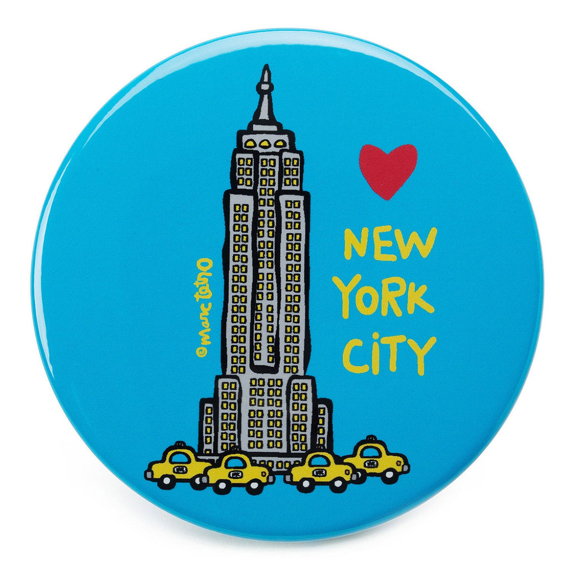 Marc Tetro Empire State Building Magnet