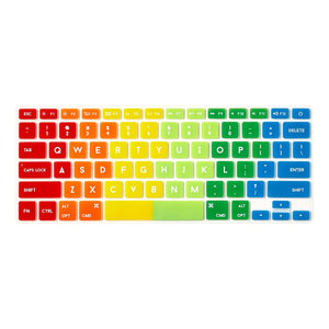 Flapjacks II Rainbow Mac Keyboard Cover by FCTRY