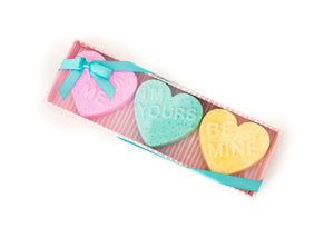 Sweat Heart Bath Bomb Trio