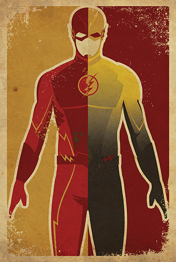Danny Haas Flashes / Flash and Reverse Flash Print