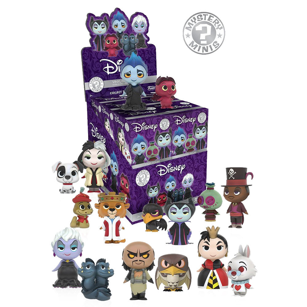 Disney Villains Mystery Minis Blind Box by Funko