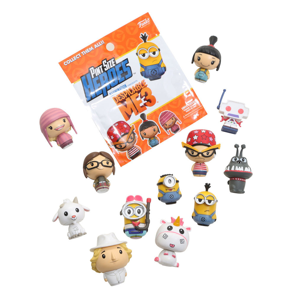 Funko Pint Size Heroes: Despicable Me 3 Mystery Blind Bag Box