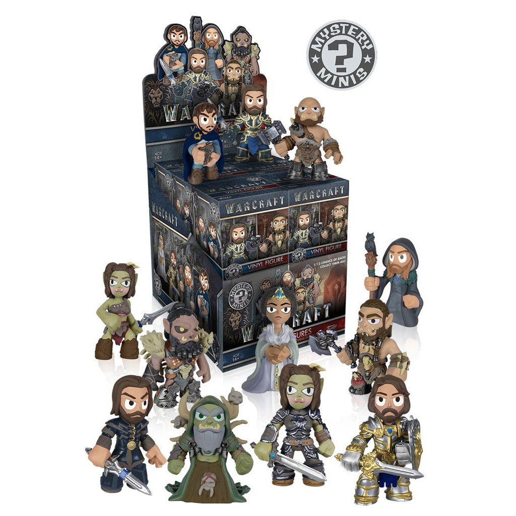 World of Warcraft The Movie Mystery Minis Blind Box by Blizzard and Funko
