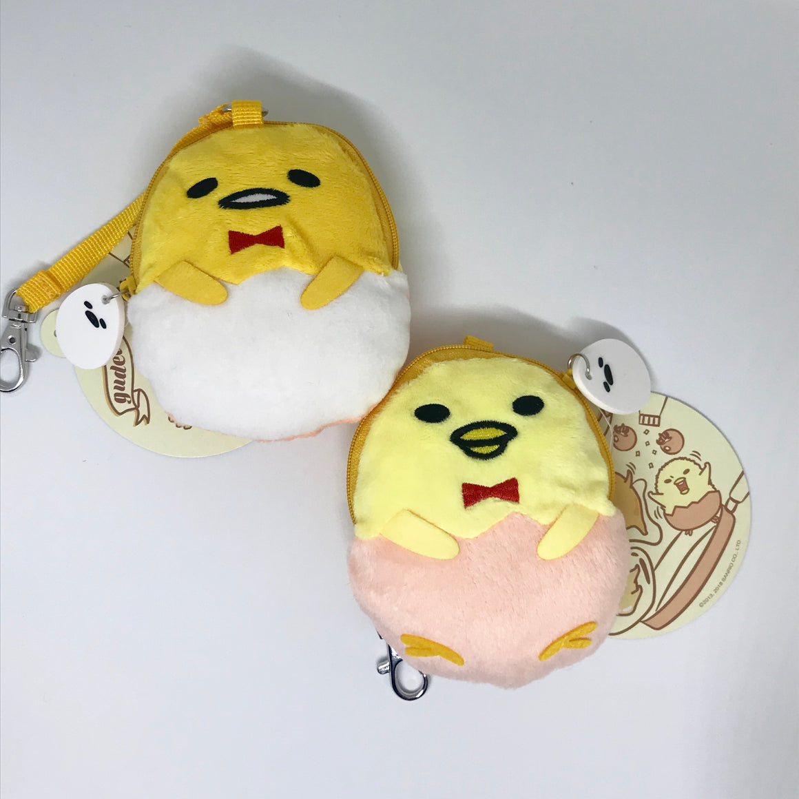 Gudetama and Friends Double Sided Coin Purse  by Sario