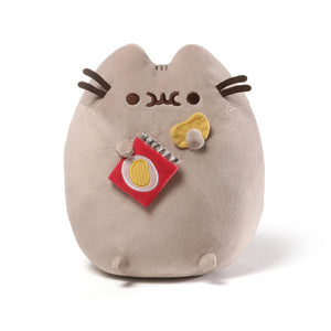 "Pushed The Cat Potato Chips Plush 9.5"" from Gund"