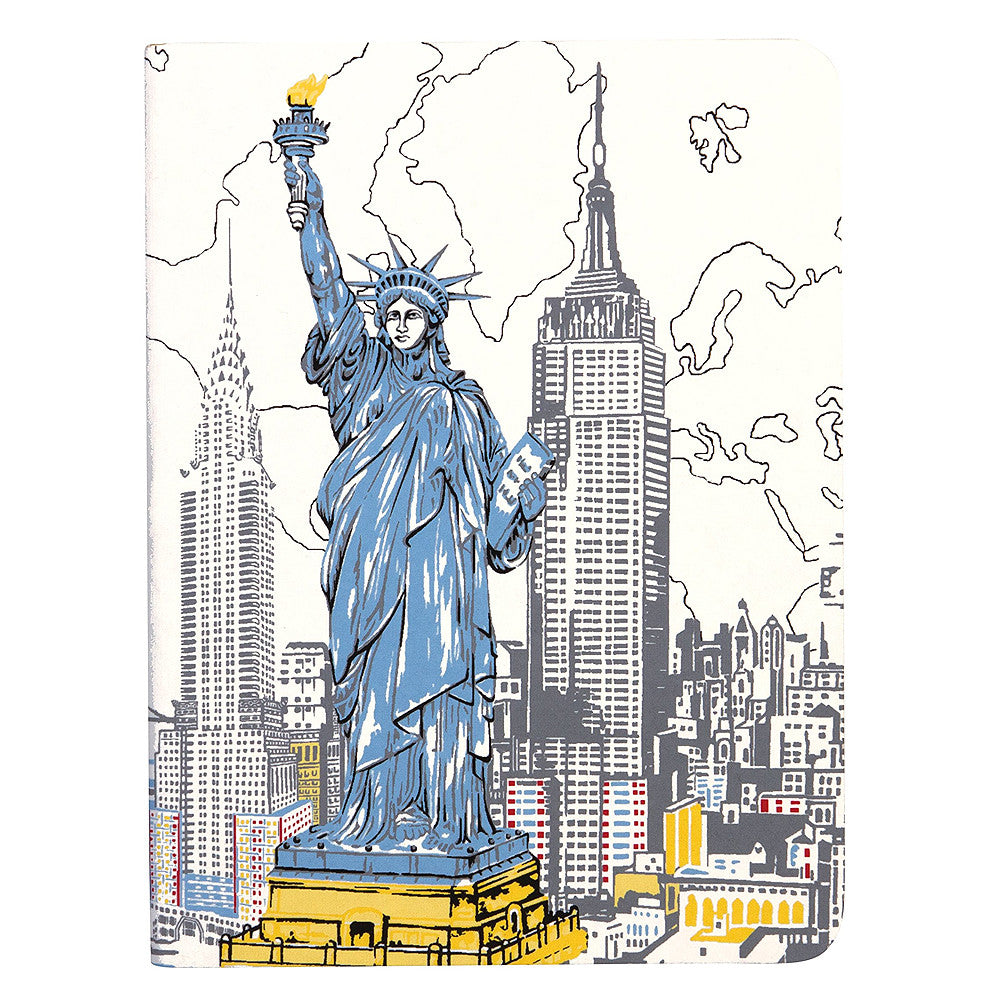 New York Statue Of Liberty Notebook  by Hachette