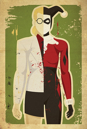 Daany Haas Dr. Harleen Quinzel / Harley Quinn Print - PIQ