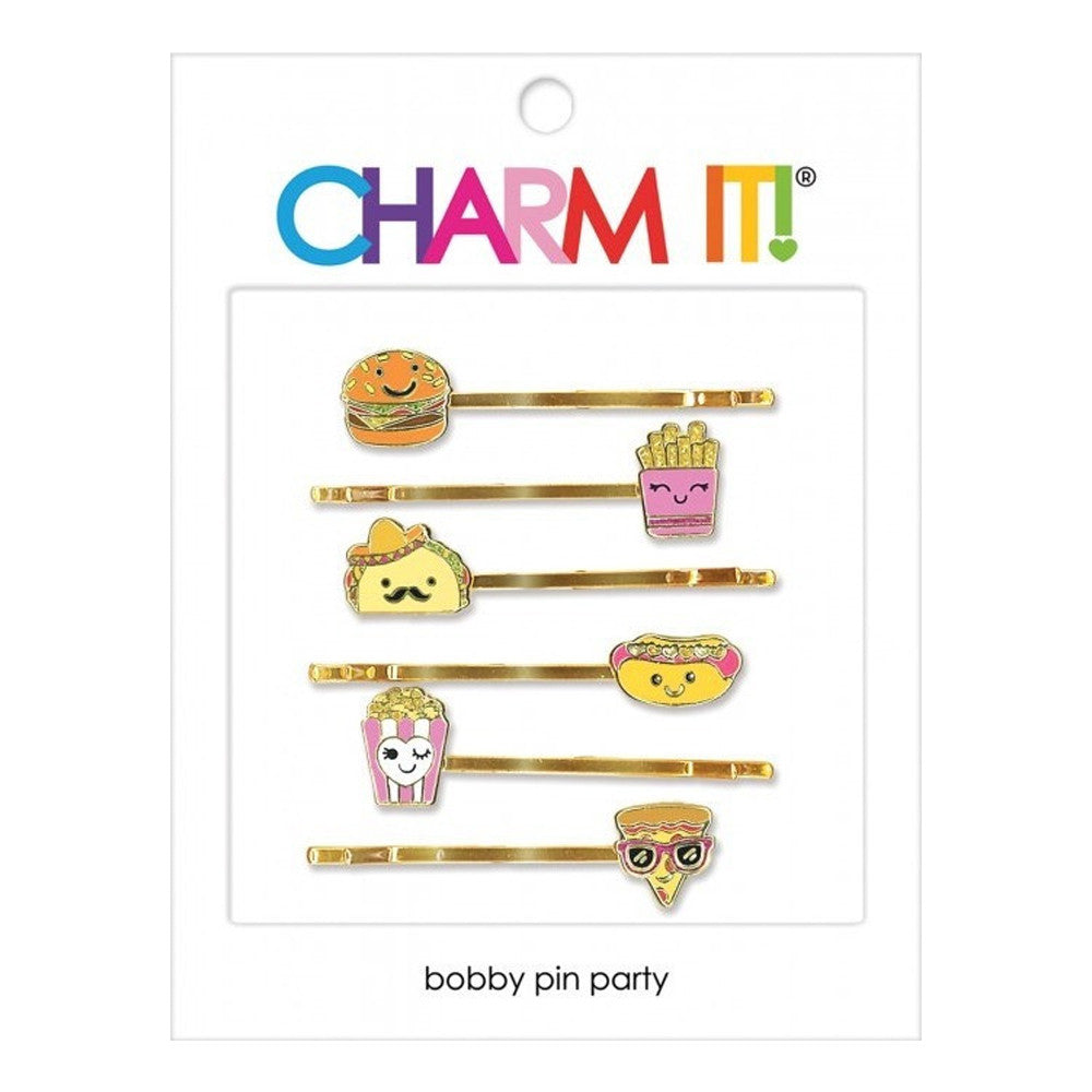 Charm It - Food Bobby Pin Party Set