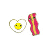 Egg & Bacon Enamel Pin  by High Intencity