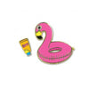 Flamingo Float Enamel Pin  by High Intencity
