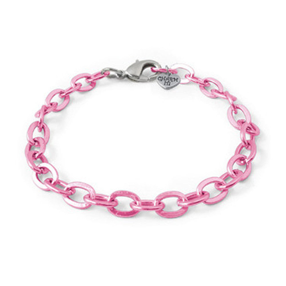 Pink Chain Bracelet  by High Intencity