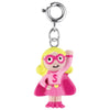 Pink Super Girl Charm  by High Intencity