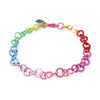 Rainbow Chain Bracelet  by High Intencity