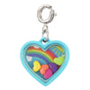 Rainbow Heart Shaker Charm  by High Intencity