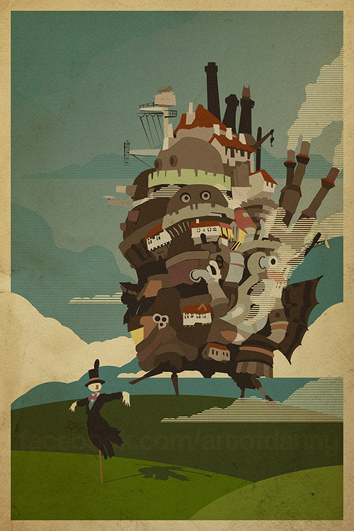 Danny Haas Howl's Moving Castle Print