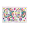 B.F.F Scented Bracelet Erasers, Set of 2