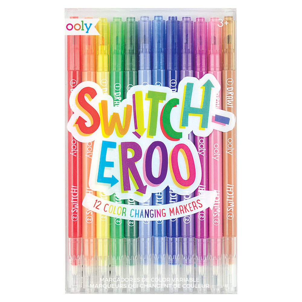 Switch-Eroo Color Changing Marker Set - PIQ