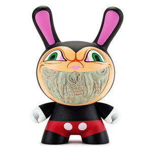 "Ron English Apocalypse Grin 8"" Black by Kidrobot - 1"