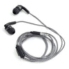 Braided Earbuds Black by Kikkerland - 1