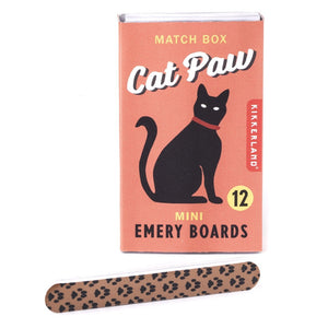 Cat Paws Match Box Emery Boards
