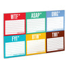 Acronym Sticky Note Packet  by Knock Knock