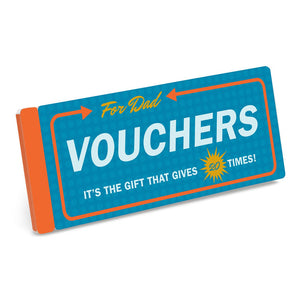 Vouchers for Dad  by Knock Knock - 1