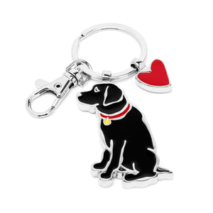 Marc Tetro Black Lab Key ring