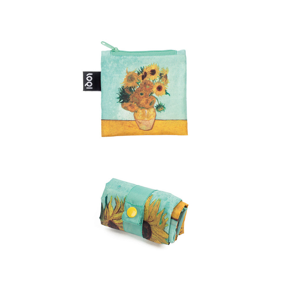 Vase with Sunflowers Tote Bag  by LOQI - 1