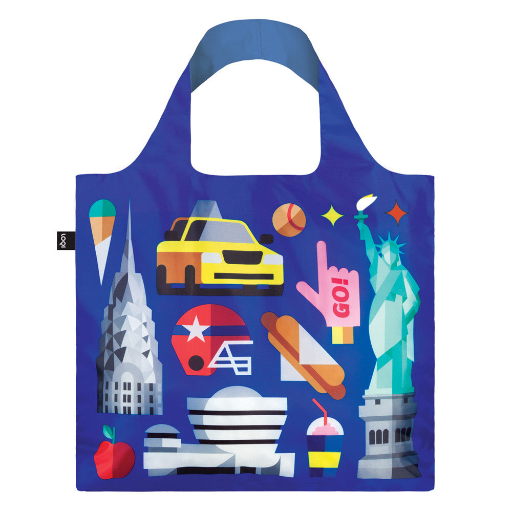 LOQI Hey New York Tote Bag