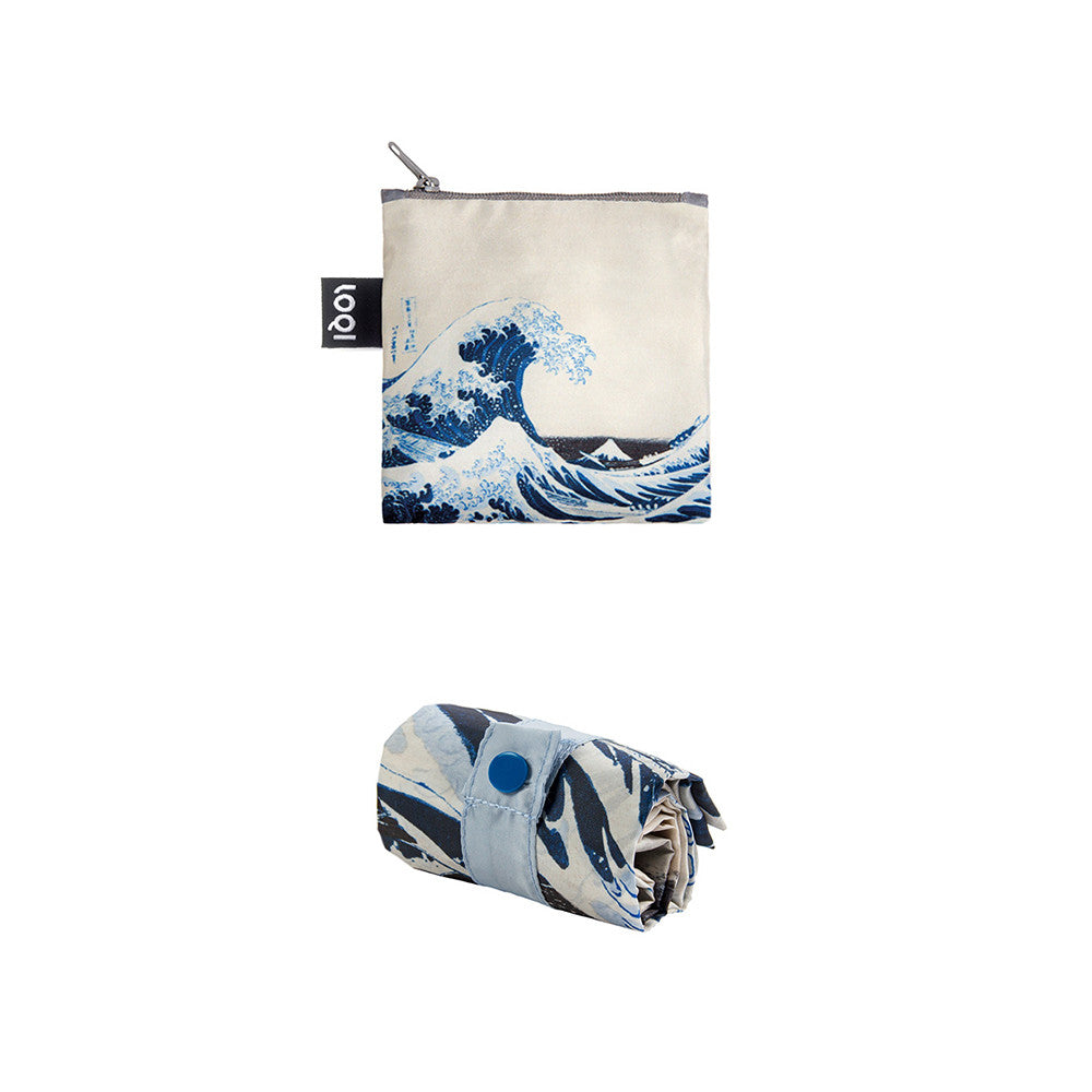 The Great Wave Tote Bag  by LOQI - 1