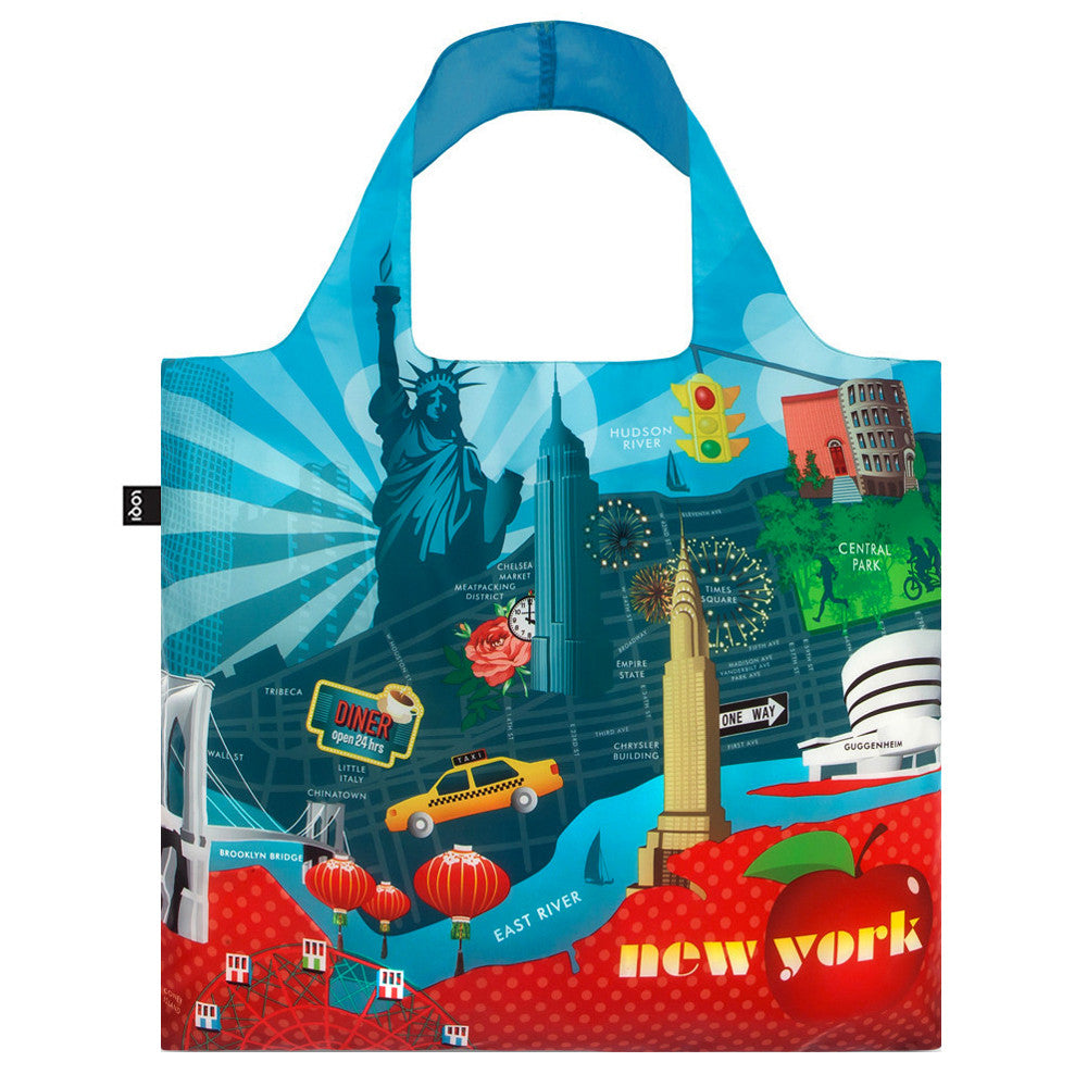 New York Tote Bag  by LOQI