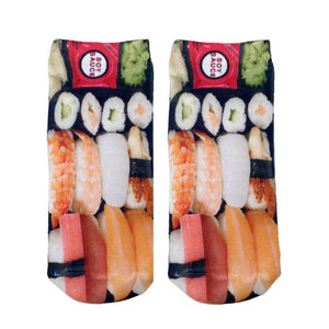 Sushi Ankle Socks  by Living Royal
