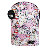 Pokemon X Loungefly Fairy Type All over Print Backpack