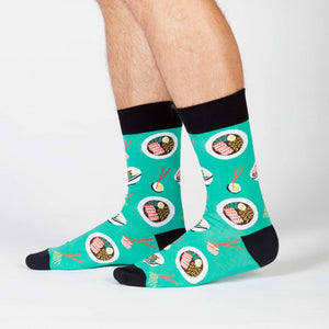 Ra-Man! Men's Crew Socks