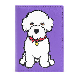 Marc Tetro Bichon Passport Cover Front