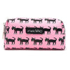 Marc Tetro Cat Pink Zip Cosmetic Case Small