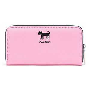 Marc Tetro Cat Zipper Wallet Large - PIQ