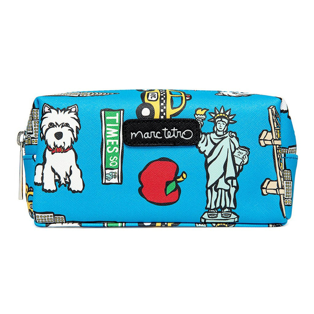 Marc Tetro NYC Pattern Small Cosmetic Case
