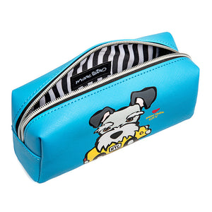 Marc Tetro NYC Schnauzer Taxi Cosmetic Case Small