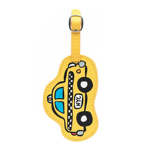 Marc Tetro NYC Taxi Luggage Tag