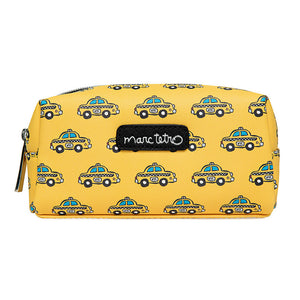 Marc Tetro Taxis Pattern Small Cosmetic Case