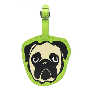 Marc Tetro Pug Luggage Tag