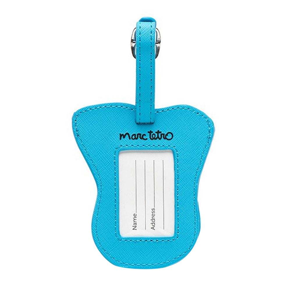 Marc Tetro Schnauzer Luggage Tag- Blue