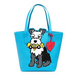 Marc Tetro NYC Schnauzer Tote with Dangle