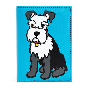 Marc Tetro Schnauzer Passport Cover Front