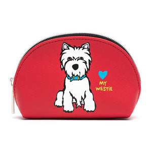 Marc Tetro Westie Cosmetic Case Mini