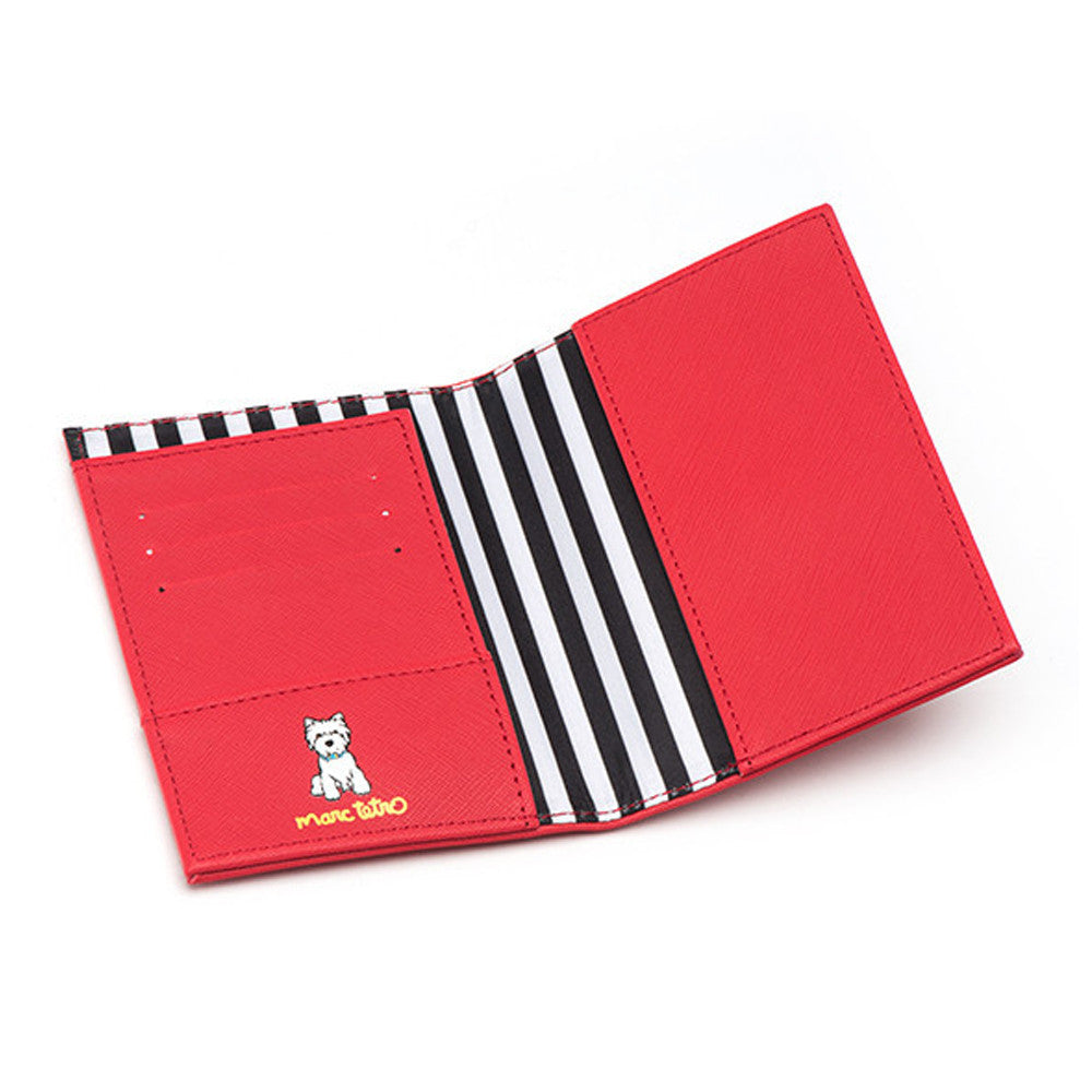 Marc Tetro Westie Passport Cover Front